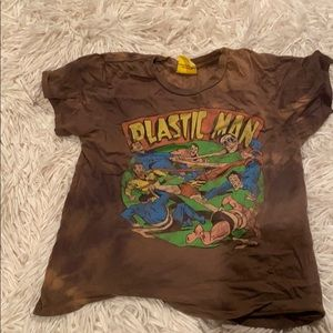 Plastic man crop top
